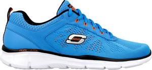 Niebieskie buty sportowe Skechers