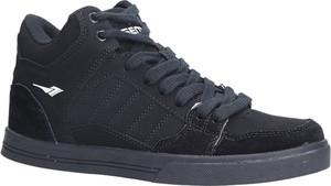 Czarne buty sportowe sznurowane Casu B2278-1