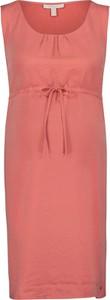 Esprit Sukienka ciążowa w kolorze brzoskwiniowym