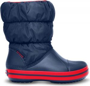Granatowe buty dziecięce zimowe Crocs
