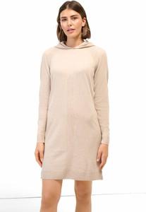 Sukienka ORSAY mini z dzianiny z długim rękawem