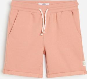 Różowe spodnie dziecięce Reserved dla chłopców