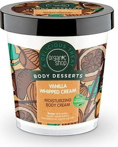 Organic Shop, Body Desserts, krem do ciała nawilżający, Vanilia Whipped Cream, 450 ml