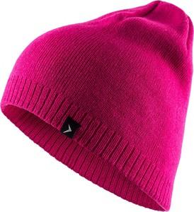 Różowa czapka Outhorn w stylu casual