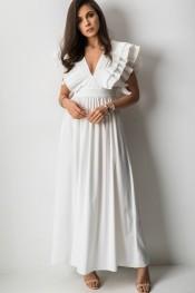 Sukienka Fashion Manufacturer bez rękawów maxi z tkaniny