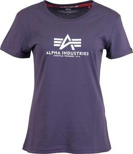 T-shirt Alpha Industries z okrągłym dekoltem