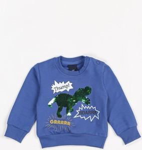 Niebieska bluza dziecięca Multu