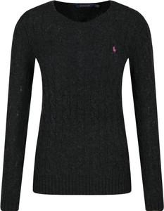 Czarny sweter POLO RALPH LAUREN z kaszmiru