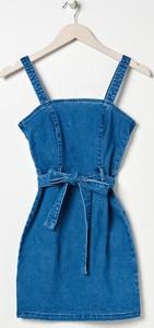 Sukienka Sinsay z jeansu