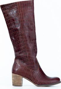 Kozaki Zapato w stylu boho