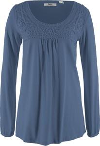 Bluzka bonprix w stylu casual z okrągłym dekoltem