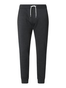 Czarne spodnie Montego z dresówki