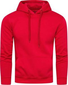 Czerwona bluza Recea z bawełny w młodzieżowym stylu