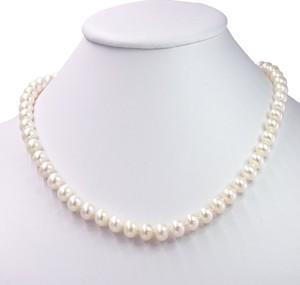 Braccatta MISAKI Naszyjnik z białych naturalnych pereł