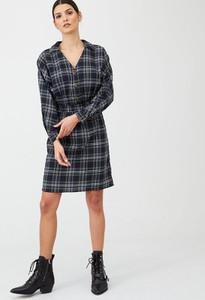 Sukienka V by Very z długim rękawem w stylu casual mini