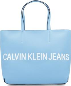Torebka Calvin Klein duża na ramię