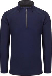 Granatowy sweter Descente