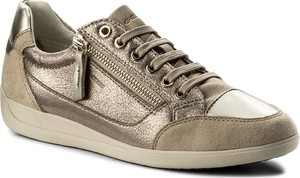 Sneakersy GEOX - D Myria A D6468A 0CD22 C9HH6 Lead/Lt Taupe