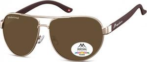 Stylion Pilotki okulary aviator Montana MP98B polaryzacyjne