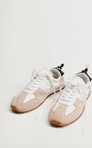 Buty sportowe Mango sznurowane w sportowym stylu