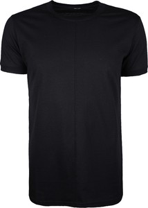 Czarny t-shirt Xagon z krótkim rękawem