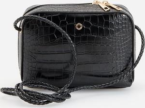 Czarna torebka Reserved ze skóry
