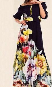 Sukienka Kendallme hiszpanka w stylu boho z długim rękawem