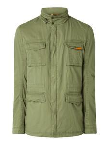 Zielona kurtka McNeal z bawełny w stylu casual