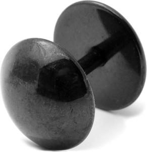Trendhim Czarny okrągły wkręt 8 mm
