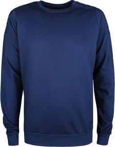 Niebieska bluza Trussardi w stylu casual