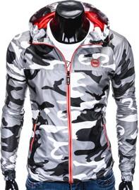 Kurtka Ombre Clothing w militarnym stylu