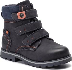 Buty dziecięce zimowe Lasocki Kids na rzepy