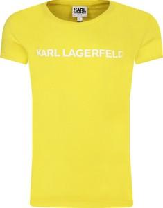 Koszulka dziecięca Karl Lagerfeld z krótkim rękawem