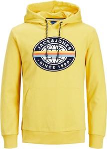 Żółta bluza WARESHOP w młodzieżowym stylu