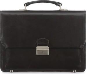 Czarna torebka Ochnik matowa do ręki