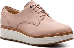 3e454d06da6660 Różowe buty damskie Clarks, kolekcja lato 2019