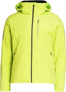 Zielona kurtka Descente w sportowym stylu