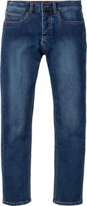 Niebieskie jeansy bonprix RAINBOW