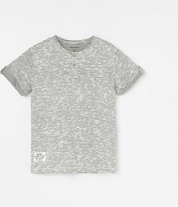 Koszulka dziecięca Reserved w paseczki z krótkim rękawem