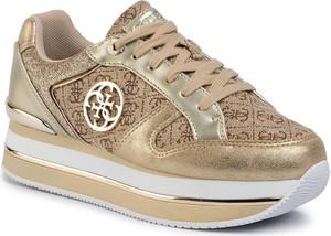 Sneakersy Guess sznurowane