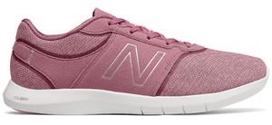 Buty sportowe New Balance na koturnie w sportowym stylu sznurowane