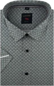 Koszula Laviino z tkaniny w młodzieżowym stylu z krótkim rękawem