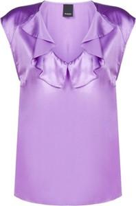 Fioletowa bluzka Pinko bez rękawów