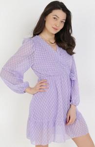 Sukienka born2be w stylu casual z długim rękawem mini
