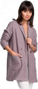 Różowy płaszcz Be