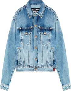 Kurtka Versace Jeans w młodzieżowym stylu krótka