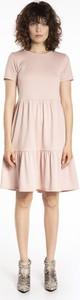 Sukienka Gate mini z krótkim rękawem