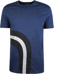 T-shirt Trussardi z krótkim rękawem z bawełny