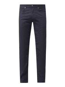 Granatowe spodnie Christian Berg Men z bawełny