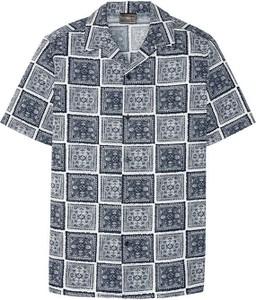 Koszula bonprix z bawełny z klasycznym kołnierzykiem